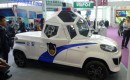 Zijing Qingyuan Armored Spherical Cabin Electric Patrol Vehicle. Photo by CarNewsChina.com.