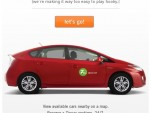Zipcar Facebook app