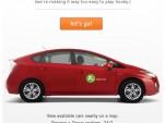Zipcar Facebook app
