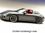 Zolland Design retro conversion for the 991-series Porsche 911