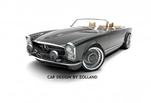 Zolland Design retro conversion for the fifth-generation Mercedes-Benz SL