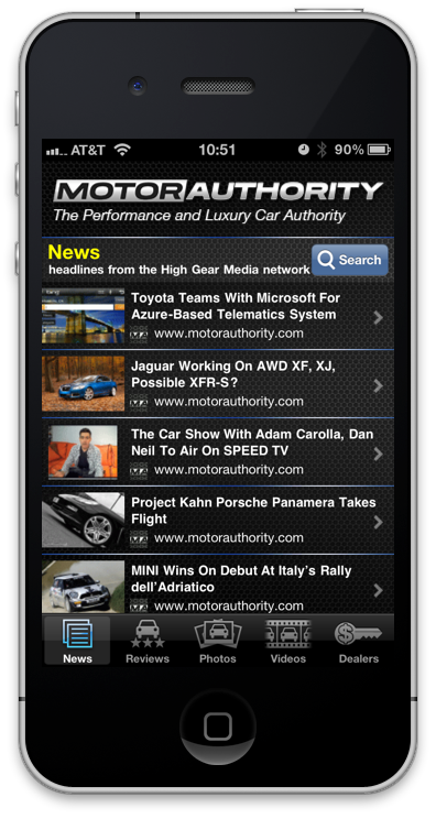 Try the Motor Authority iPhone app!