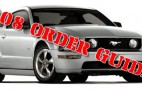 2008 Mustang & Shelby GT500 Order Guides Released
