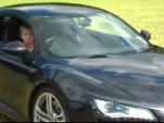 11-year old in an Audi R8