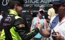 13-year-old Steven Aghakhani breaks 200 miles per hour in a Bugatti Veyron