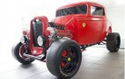 This is the Ferrari-Ford Hot Rod mash up you never knew you wanted