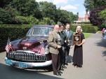 1949 Buick around the world