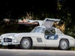 1954 Mercedes-Benz 300SL with chassis number #198 040 4500003, the first of the gullwings