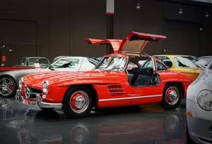 1955 Mercedes-Benz 300SL at Gosford Classic Car Museum