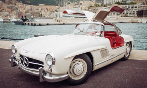 1955 Mercedes-Benz 300SL owned by Nico Rosberg