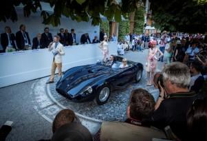 1956 Maserati 450S at the Concorso d'Eleganza Villa d'Este 2014