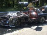 1956 Mercedes-Benz 300SL wrecked during 2014 Mille Miglia