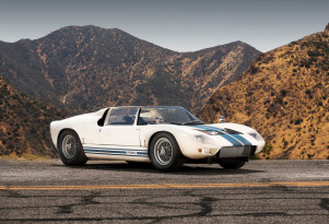 1965 Ford GT40 Roadster prototype bearing chassis no. GT/108 - Image via Girardo & Co.