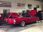 1968 Ford Mustang with a Toyota 2JZ engine swap