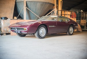 Barn Find Maserati Ghibli Heads To Auction