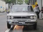 1972 Nissan Skyline 2000 GT-R coupe, Nissan Heritage garage, Zama, Japan