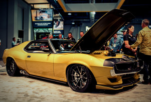1972 AMC Javelin AMX by Ringbrothers, 2017 SEMA show