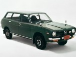 1972 Subaru Leone, the first Subaru vehicle with symmetrical all-wheel drive technology