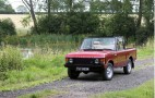 Rare Range Rover Convertible Conversion Headed To Auction