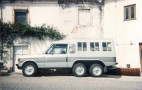 Before The Mercedes G63 AMG 6x6, There Was The Six-Wheeled Range Rover