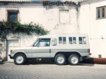 1973 six-wheel Range Rover