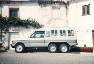 1973 six-wheel Range Rover