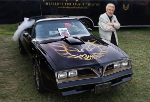 1977 Pontiac Firebird Trans Am 'Smokey and the Bandit' promo car - Image via Barrett-Jackson