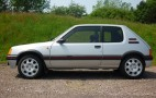1989 Peugeot 205 GTI achieves record price at classic car auction
