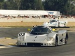 1989 Sauber Mercedes C9 at Le Mans