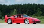 Rod Stewart Ferrari F40 & Steve McQueen Chevy El Camino Headline Burbank Auction