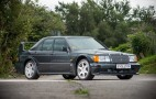 Ultra low-mileage Mercedes 190E Evo II heads to auction
