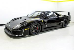 1991 Ferrari F40 restored on television series Fast N' Loud - Image via Barrett-Jackson