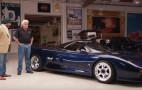 Uber-rare Jaguar XJR-15 stops by Jay Leno's Garage