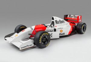 1993 McLaren MP4/8A Formula 1 race car