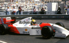 Senna's race-winning McLaren Formula 1 car heads to auction