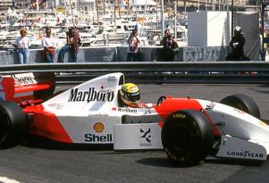 1993 McLaren-Ford MP4/8A Formula 1 race car - Image via Bonhams