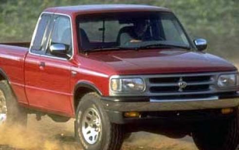 1997 Mazda B Series 4wd Truck
