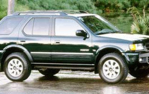 1998 Honda Passport Vs Gmc Yukon Ford Expedition Subaru Forester