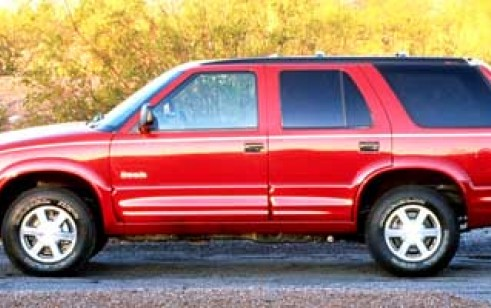 1998 Oldsmobile Bravada Vs Chevrolet Blazer Toyota 4runner Jeep