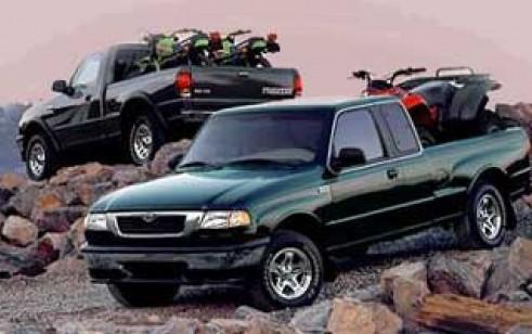 1999 Mazda B Series 4wd Truck Se