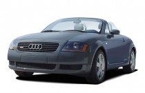 2003 Audi TT 2-door Roadster quattro Manual Angular Front Exterior View