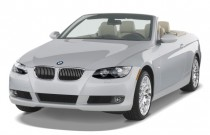 2009 BMW 3-Series 2-door Convertible 328i Angular Front Exterior View