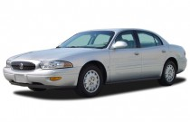 2003 Buick LeSabre 4-door Sedan Custom Angular Front Exterior View