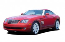 2008 Chrysler Crossfire 2-door Coupe Limited Angular Front Exterior View