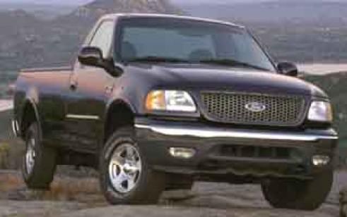 Ford F Xl X on 1996 Dodge Dakota Blue