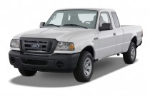 "2009 Ford Ranger 2WD 2-door SuperCab 126"" Sport Angular Front Exterior View"