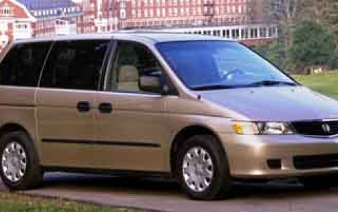 2000 honda odyssey vs toyota sienna mazda mpv nissan. Black Bedroom Furniture Sets. Home Design Ideas