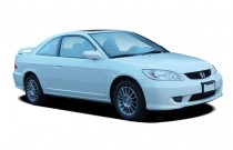 2005 Honda Civic Coupe EX AT SE Angular Front Exterior View