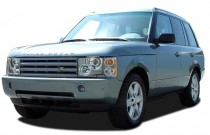 2005 Land Rover Range Rover 4-door Wagon HSE Angular Front Exterior View