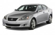 2009 Lexus IS 250 4-door Sport Sedan Auto RWD Angular Front Exterior View